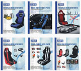 Double Or Single Slider Sport Racing Seats / Automotive Racing Bucket Seats