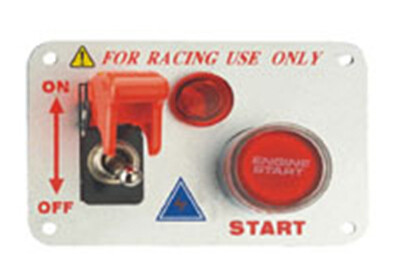 Auto Toggle Racing Switch Panel With Aluminum Alloy And Plastic Material